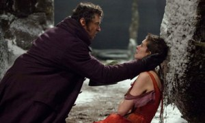 Les Miserables … Hugh Jackman and Anne Hathaway.